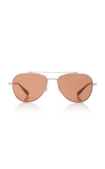 Oliver Peoples Rikson Aviator Sunglasses