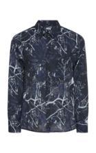 Lanvin Oversize Print Shirt