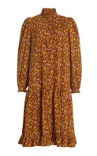 Moda Operandi Bytimo Tiered Corduroy Shift Dress