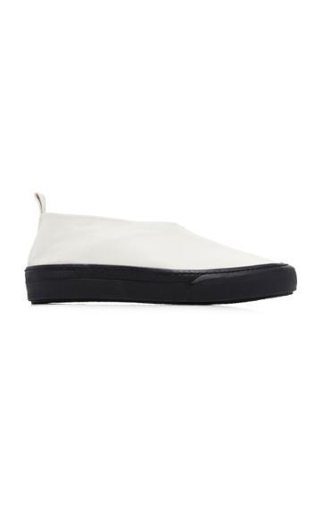 Jil Sander Low-top Lambskin Leather Slipper