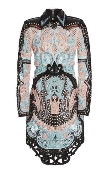 Balmain Beaded Mini Dress