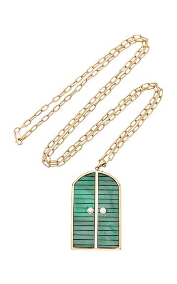Brent Neale M'o Exclusive Large Door Pendant On 32 Chain