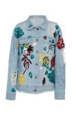 Patbo Embellished Denim Jacket