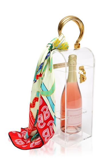 Brandon Maxwell Champagne Bag
