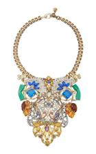 Moda Operandi Lulu Frost One-of-a-kind Gold-plated Crystal Necklace