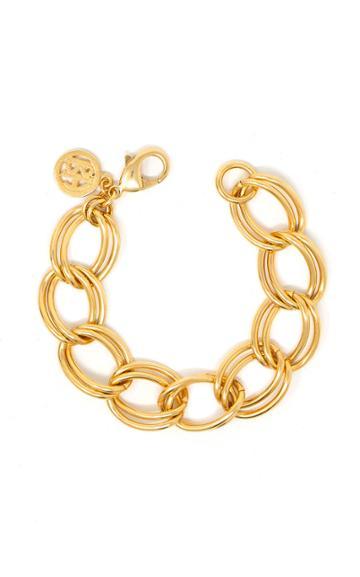 Moda Operandi Ben-amun Gold-plated Link Chain Bracelet