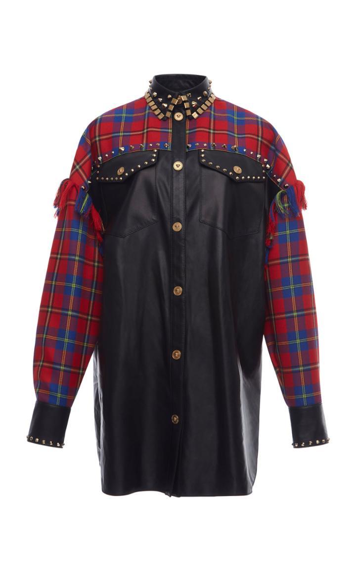 Versace Denim Buttoned Shirt
