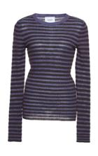 Dondup Striped Long Sleeve Top