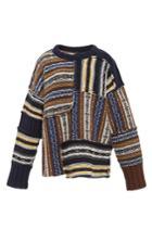 Joseph Patterned Oversized Long Sleeve Sweater