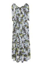 Les Reveries Tie Straps Silk Dress