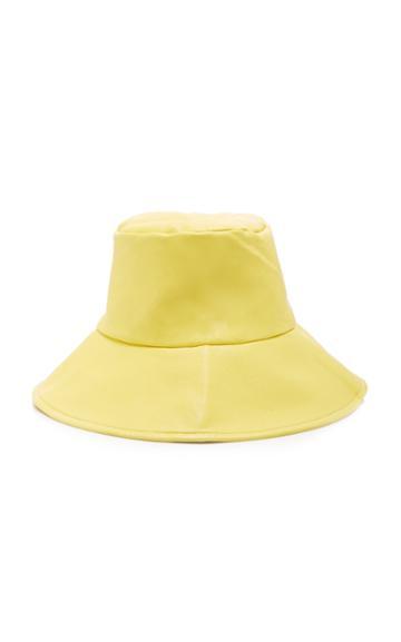 Apparis Dominique Faux Leather Bucket Hat