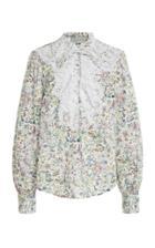 Moda Operandi Silvia Tcherassi Meg Printed Cotton Blouse