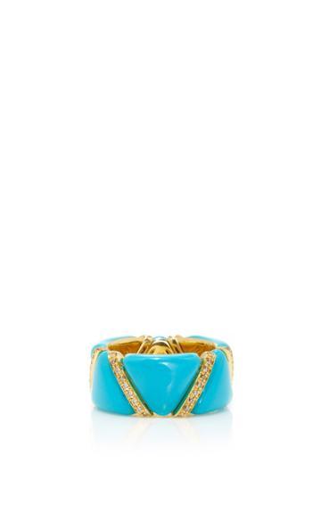 Qayten Ez Turquoise Ring