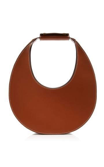 Staud Moon Leather Top Handle Bag