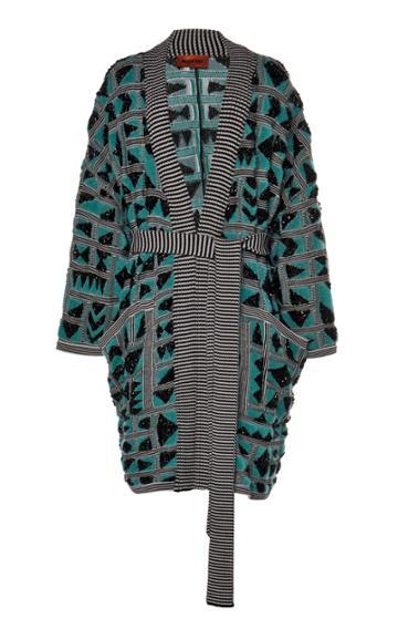 Moda Operandi Missoni Printed Knit Wool-blend Cardigan