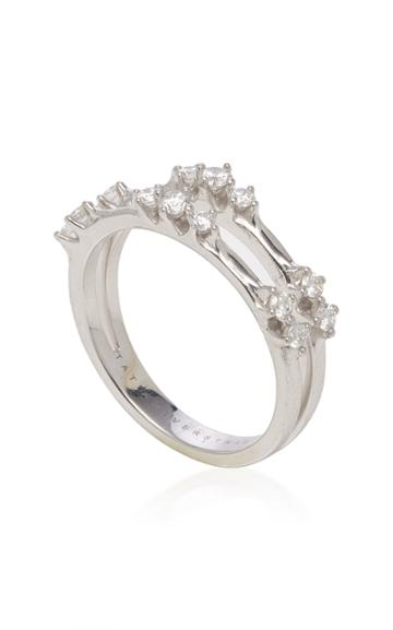 Tatiana Verstraeten Basic Frosted Double Phalange Ring