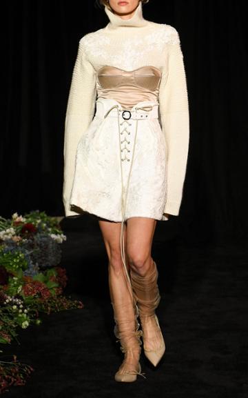 Moda Operandi Danielle Frankel Selma Lace Boxer Short Size: 0