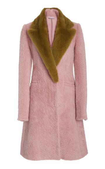 Moda Operandi Marina Moscone Two-tone Alpaca-wool Coat