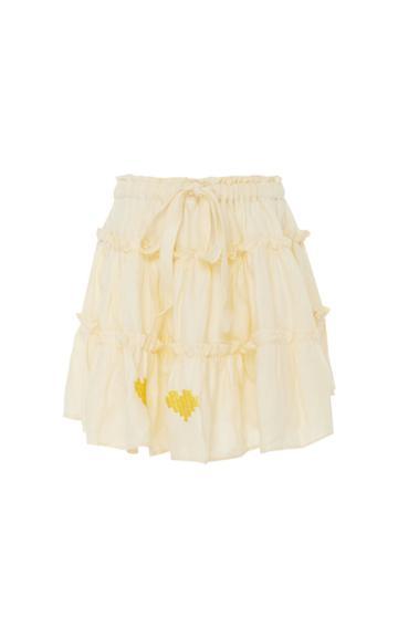 Innika Choo Min Easkurt Linen Skirt