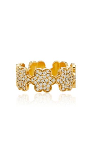 Ashley Mccormick Amelie18k Gold And Diamond Ring