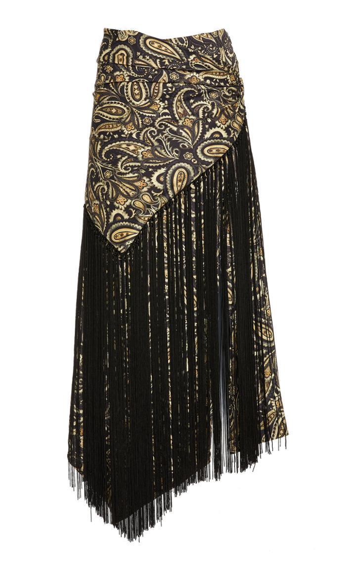 Moda Operandi Jonathan Simkhai Nala Paisley-printed Handkerchief Skirt
