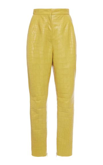 Moda Operandi Dolce & Gabbana Crocodile Skinny Pants Size: 38