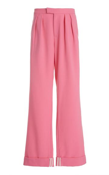 Moda Operandi Maggie Marilyn I'll Be There By Your Side Wool Straight-leg Pants