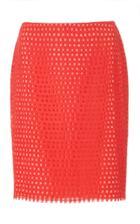 Goen.j Grid Lace Skirt