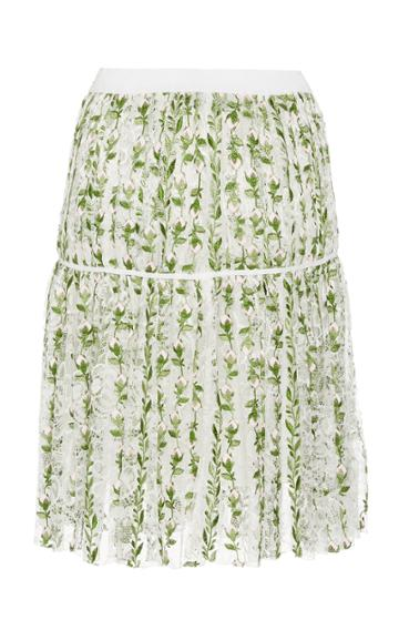 Giambattista Valli Floral Mini Skirt