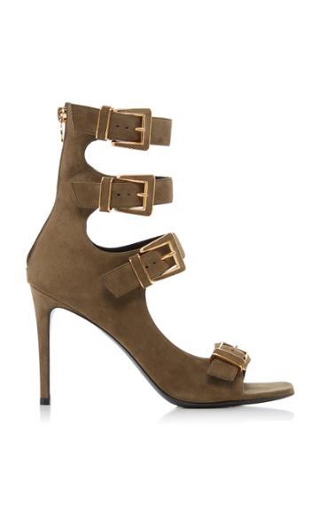 Balmain Paige Sandal Leather Sandals