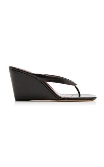 Moda Operandi Staud Sam Leather Wedges Size: 35