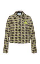 Prada Cropped Jaquard Jacket
