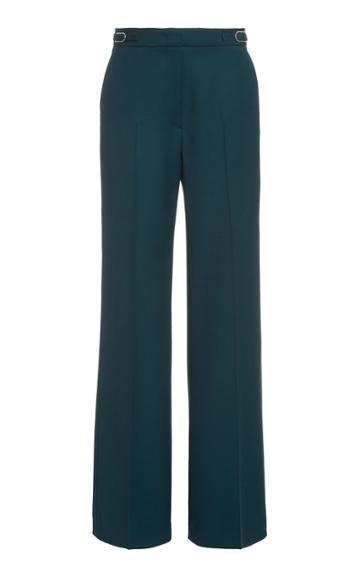 Moda Operandi Gabriela Hearst Vesta Stretch-wool Flared Trousers