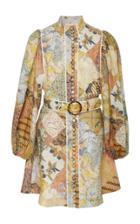 Moda Operandi Zimmermann Brightside A-line Mini Dress Size: 0