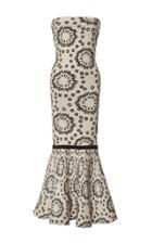 Pepa Pombo Sleeveless Peplum Midi Dress