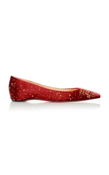 Christian Louboutin M'o Exclusive: Aquarius Zodiac Flat