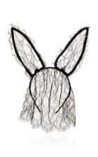 Maison Michel Heidi Rabbit Veil Headband
