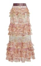 Moda Operandi Zimmermann Lucky Tiered Skirt