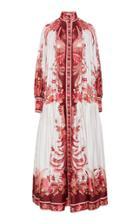 Moda Operandi Zimmermann Wavelength Placement Midi Dress Size: 1