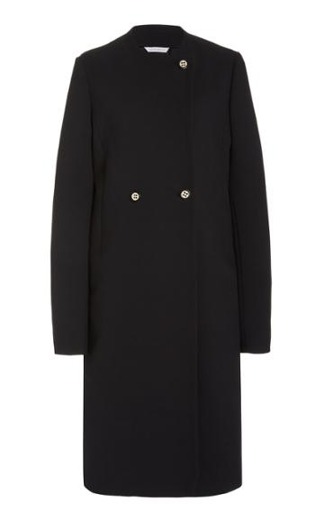 Moda Operandi Marina Moscone Double-breased Cady Coat