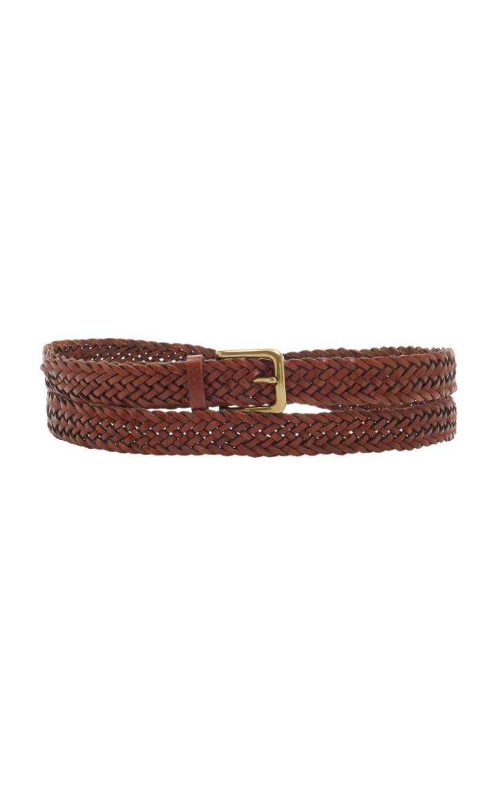 Moda Operandi Zimmermann The Braided Leather Waist Belt