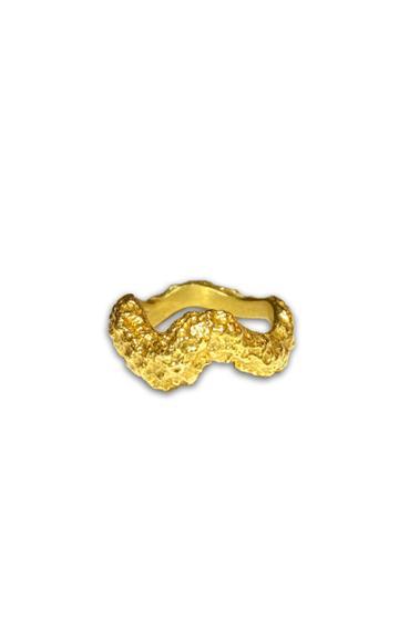 Moda Operandi Louis Abel Aurea 18k Gold Vermeil Ring