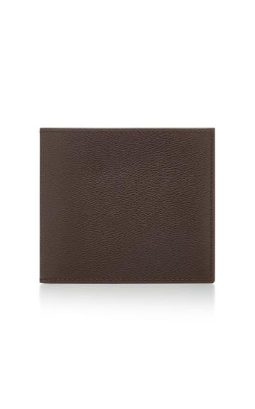 Smythson Grosvenor Textured-leather Billfold Wallet