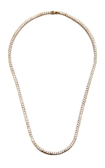 Mateo Gold And Sapphire Necklace