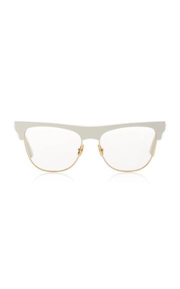 Bottega Veneta Originals D-frame Gold-tone And Acetate Sunglasses