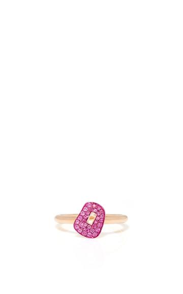 Mattioli Puzzle Ring With Pink Sapphires