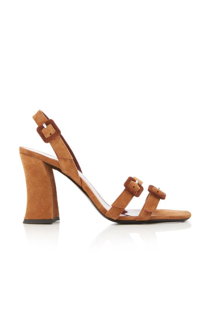 Moda Operandi Staud Jamie Suede Sandals