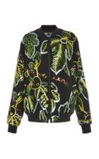 Moda Operandi Libertine Paillette-embellished Stretch-wool Bomber Jacket