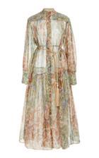 Moda Operandi Zimmermann Lucky Bound Midi Dress