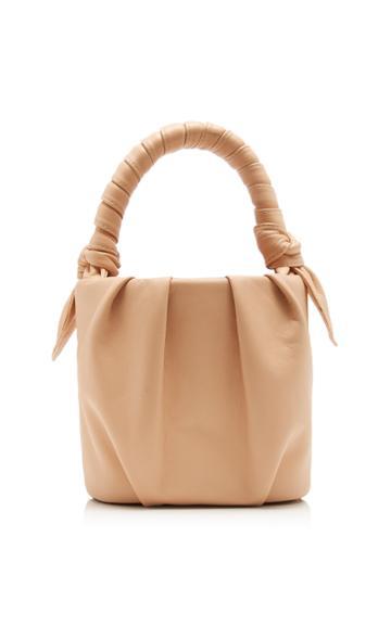 Staud Dani Leather Top Handle Bag